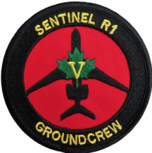 No. V (5) (AC) Squadron RAF Raytheon Sentinel Groundcrew Round Embroidered Patch
